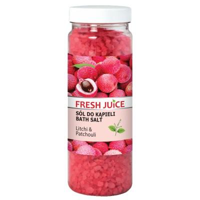 Fresh Juice Bath Salt Litchi & Patchouli 700 g