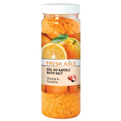 Fresh Juice Bath Salt Orange & Guarana 700 g