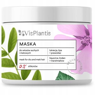 Vis Plantis Liquorice Mask Dry Hair 400 ml