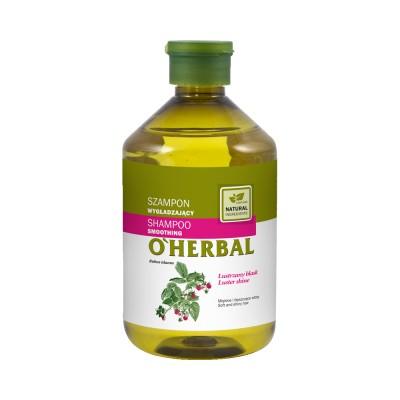 O'Herbal Smoothing Raspberry Extract Shampoo 500 ml