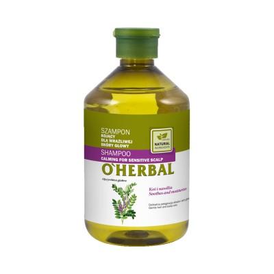 O'Herbal Calming For Sensitive Scalp Liquorice Extract Shampoo 500 ml