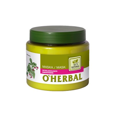 O'Herbal Smoothing Raspberry Extract Hair Mask 500 ml