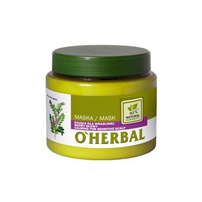O'Herbal Calming For Sensitive Scalp Liquorice Extract Hair Mask 500 ml