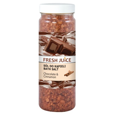 Fresh Juice Bath Salt Chocolate & Cinnamon 700 g