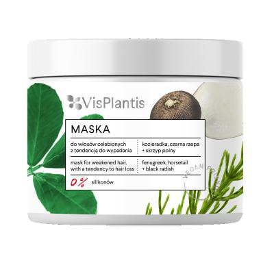 Vis Plantis Fenugreek Hair Mask Weak Hair 400 ml