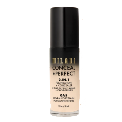 Milani Conceal + Perfect 2in1 Foundation + Concealer 0A3 Warm Porcelain 30 ml