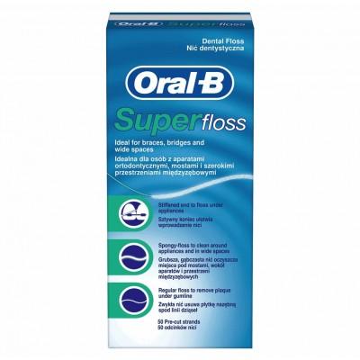 Oral-B Super Floss 50 pcs
