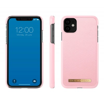 iDeal Of Sweden Saffiano Case iPhone 11 Rosa iPhone 11