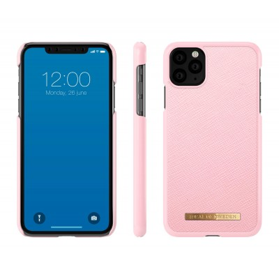 iDeal Of Sweden Saffiano Case iPhone 11 Pro Max Rosa iPhone 11 Pro Max
