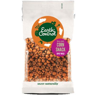 Earth Control Hot Chili Mini Majs Snacks 250 g