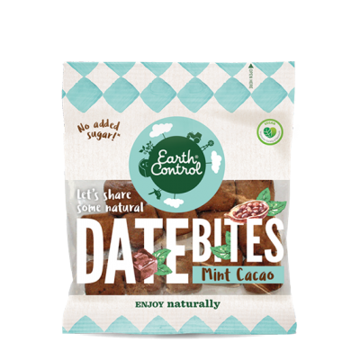 Earth Control Date Bites Mint & Kakao 100 g