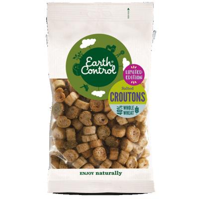 Earth Control Croutoner Med Fuldkorn 100 g