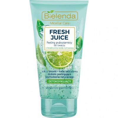 Bielenda Fresh Juice Detoxifying Face Scrub 150 g