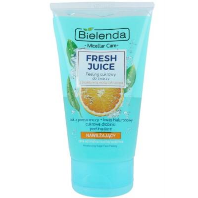 Bielenda Fresh Juice Moisturizing Face Sugar Scrub 150 g