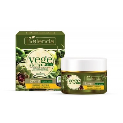 Bielenda Vege Skin Diet Face Cream Grey & Tired Skin 50 ml