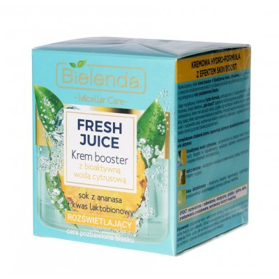 Bielenda Fresh Juice Brightening Face Cream Booster 50 ml