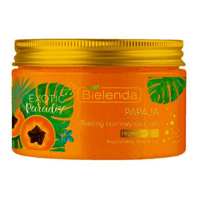 Bielenda Exotic Paradise Sugar Body Scrub Papaya 350 ml