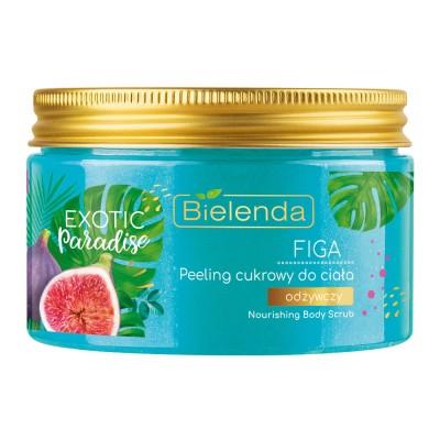 Bielenda Exotic Paradise Sugar Body Scrub Fig 350 ml