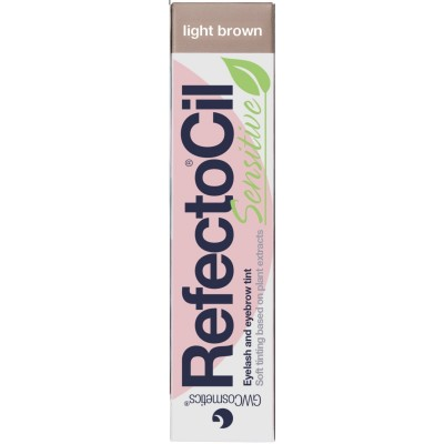Refectocil Sensitive Eyelash & Eyebrow Tint Light Brown 15 ml