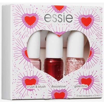 Essie Nail Polish 3 Piece Set Valentine's Collection 3 x 5 ml