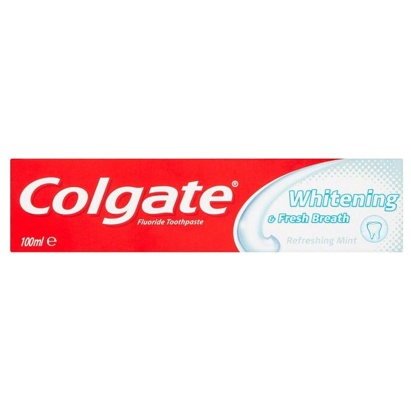 Colgate Whitening & Fresh Breath 100 ml Tannkrem