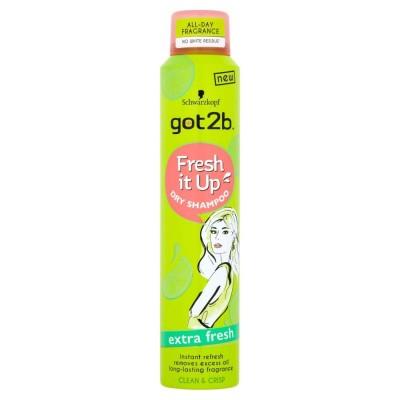Schwarzkopf Got2b Fresh It Up Extra Fresh Dry Shampoo 200 ml