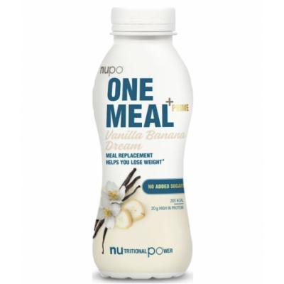 Nupo One Meal + Prime Vanilla Banana Dream 330 ml