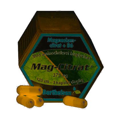 Berthelsen Mag-Citrat 375 mg 120 st