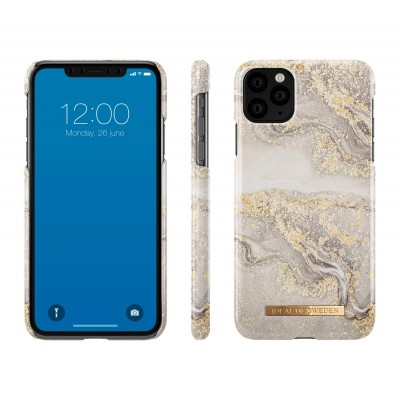 iDeal Of Sweden Fashion Case iPhone 11 Pro Max Sparkle Greige Marble iPhone 11 Pro Max