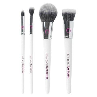 Look Good Feel Better The Makeover Brush Set 4 kpl