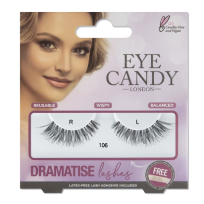 Eye Candy Dramatise False Lashes 106 1 pari