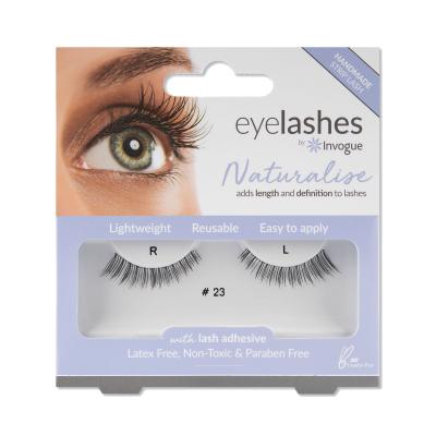 Invogue Naturalise False Eyelashes 23 1 par