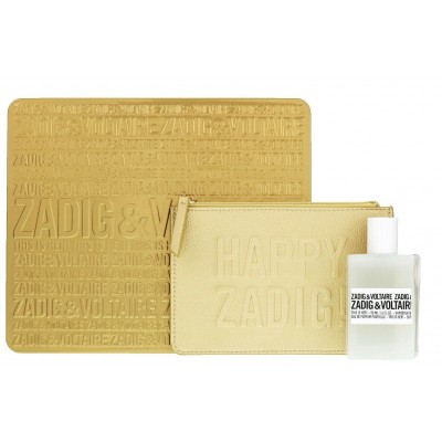 Zadig & Voltaire This is Her! EDP & Golden Pochette 50 ml + 1 kpl