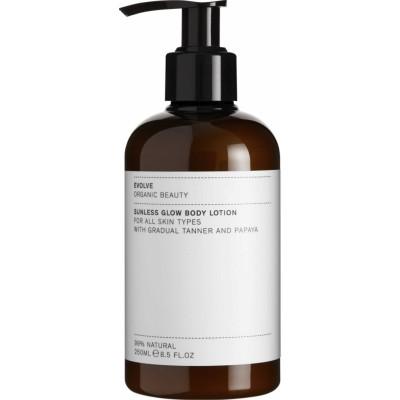 Evolve Organic Beauty Sunless Glow Body Lotion 250 ml