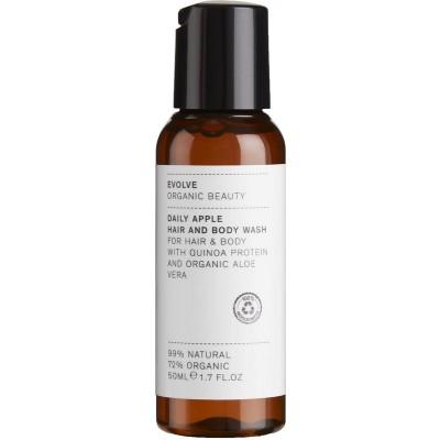 Evolve Organic Beauty Daily Apple Hair & Body Wash 50 ml