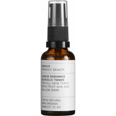 Evolve Organic Beauty Liquid Radiance Glycolic Toner 30 ml