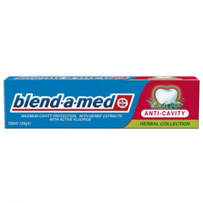 Blend-A-Med Anti Cavity Herbal Collection 50 ml