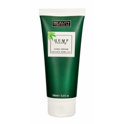 Beauty Formulas Organic Hemp Oil Hand Cream 100 ml