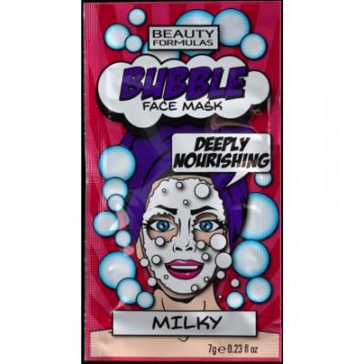 Beauty Formulas Bubble Milky Face Mask 7 g