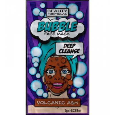 Beauty Formulas Bubble Volcanic Ash Face Mask 7 g