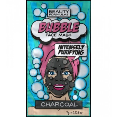 Beauty Formulas Bubble Charcoal Face Mask 7 g