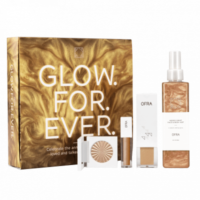 Ofra Glow For Ever Rodeo Drive Anniversary Assortment 240 ml + 3,5 ml + 30 g + 4 g