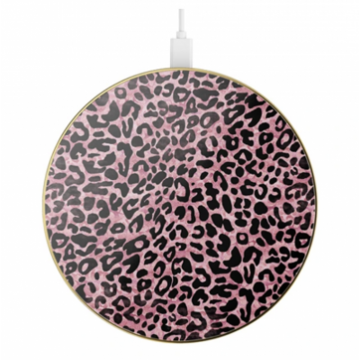 iDeal Of Sweden Fashion QI Charger Lush Leopard 1 stk