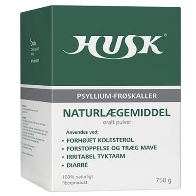 Husk Psyllium-Frøskaller Pulver 750 g