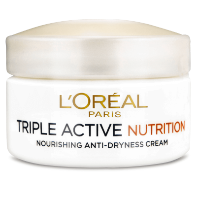 L'Oreal Triple Active Nutrition Cream 50 ml