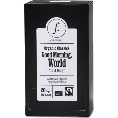Fredsted luomu yrttitee Good Morning, World 36 g
