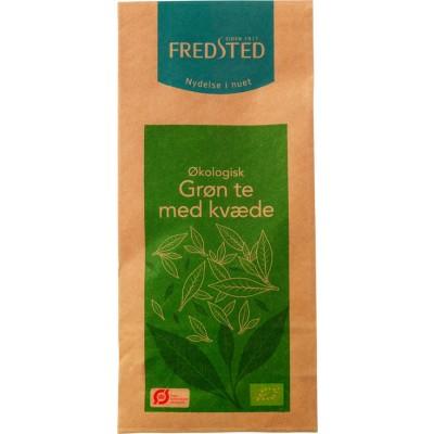 Fredsted Grøn Te Med Kvæde Øko 80 g