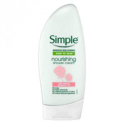 Simple Kind To Skin Nourishing Shower Cream 500 ml