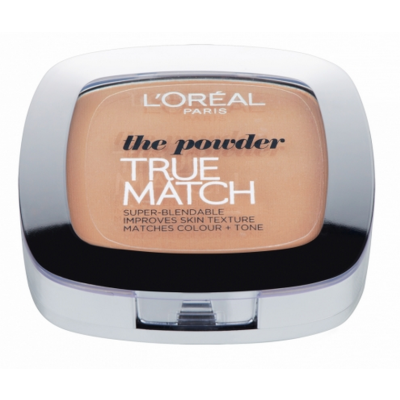 L'Oreal True Match Powder W3 Golden Beige 9 g