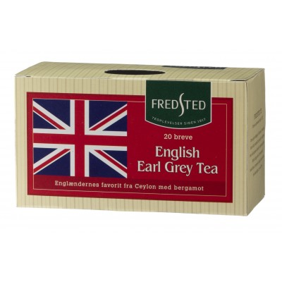 Fredsted English Earl Grey Tea 20 pussia